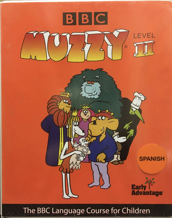 Muzzy Spanish Level 2 DVD - Like new