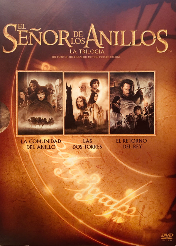 El Señor de los Anillos La Trilogía 6 DVD | Lord of the Rings in Spanish 6 DVD Set