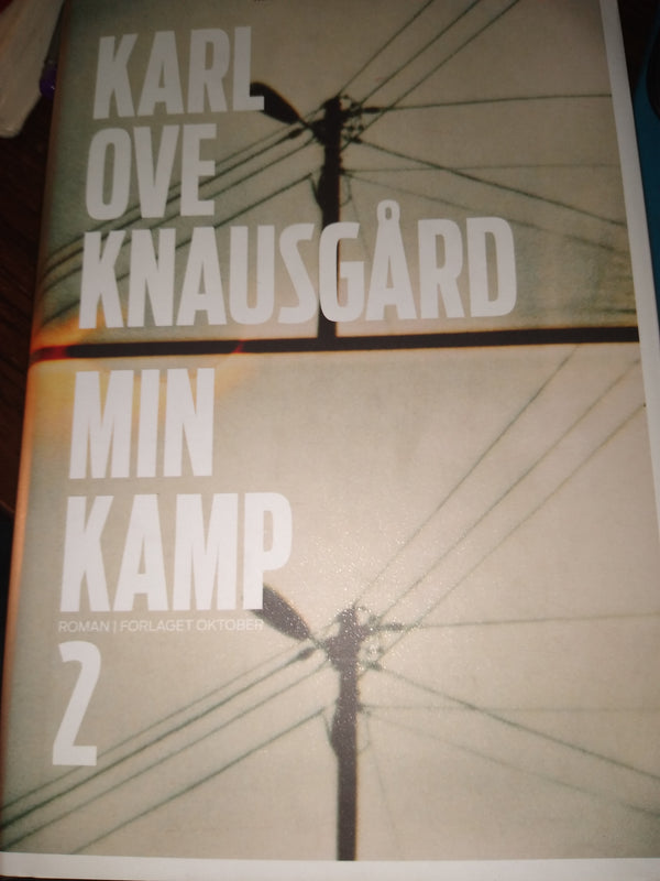 Min Kamp 2 by Karl ove Knausgard Swedish