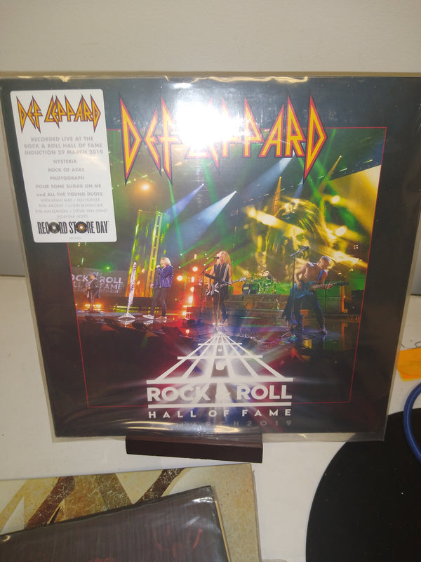 Def Leppard live record store day hall of fame