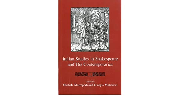 Italian Studies in Shakespeare and His Contemporaries- Very Good Plus used Book