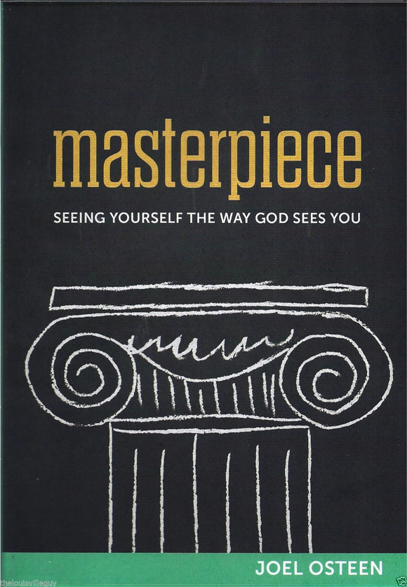 Masterpiece - Seeing You How God Sees You! - Joel Osteen - 2 CD/2 DVD Set