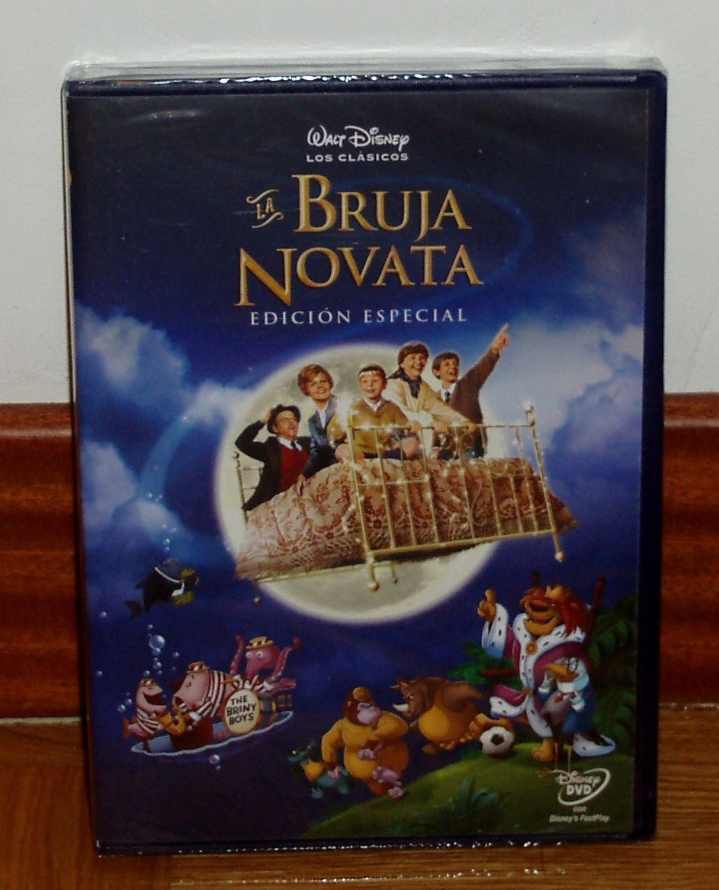 LA BRUJA NOVATA-BEDKNOBS AND BROOMSTICKS-DISNEY-DVD-PRECINTADO- - Teacher In Spanish