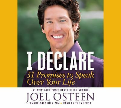 Joel Osteen - I Declare 31 Promises to Speak Over Your Life, New CD