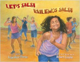 Let's Salsa Bailemos Salsa Bilingual Spanish and English book