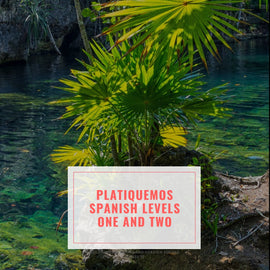 Platiquemos Spanish Course Printed Books with Audio Download