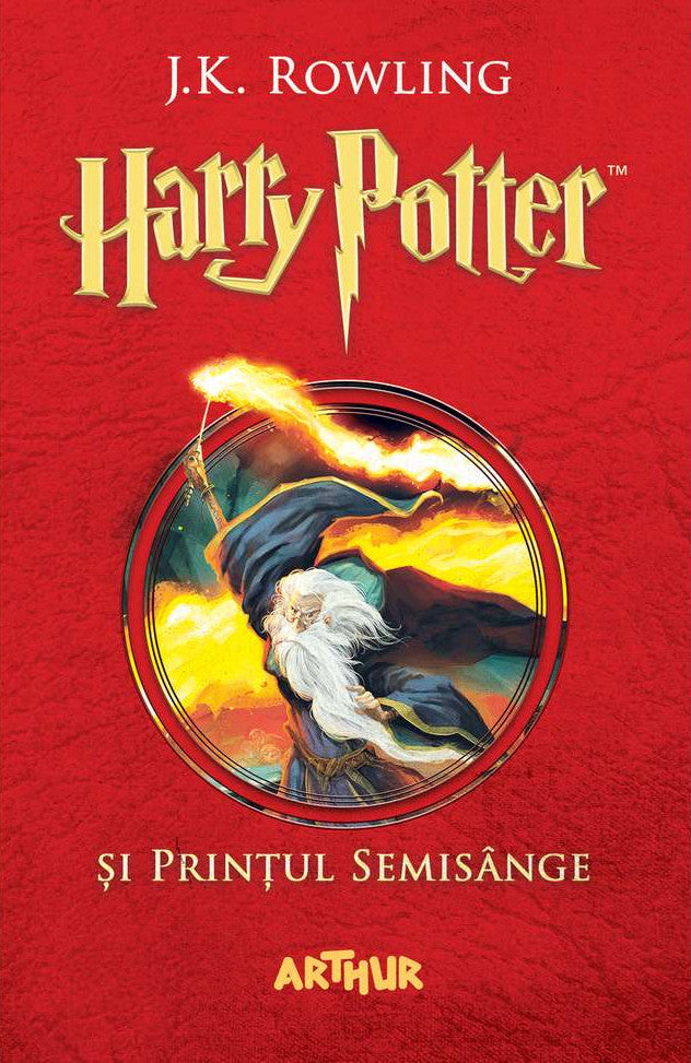 Harry Potter and The Half-Blood Prince Book 6 in Romanian