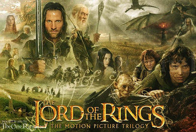 French Edition Lord of the Rings Set and the Hobbit -Free Shipping- Le Seigneur des Anneaux.