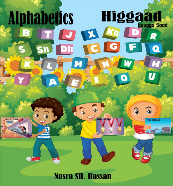 HIggaad buugga 5aad - Alphabetics & Phonetics (Book and Flashcards)  Somali - English