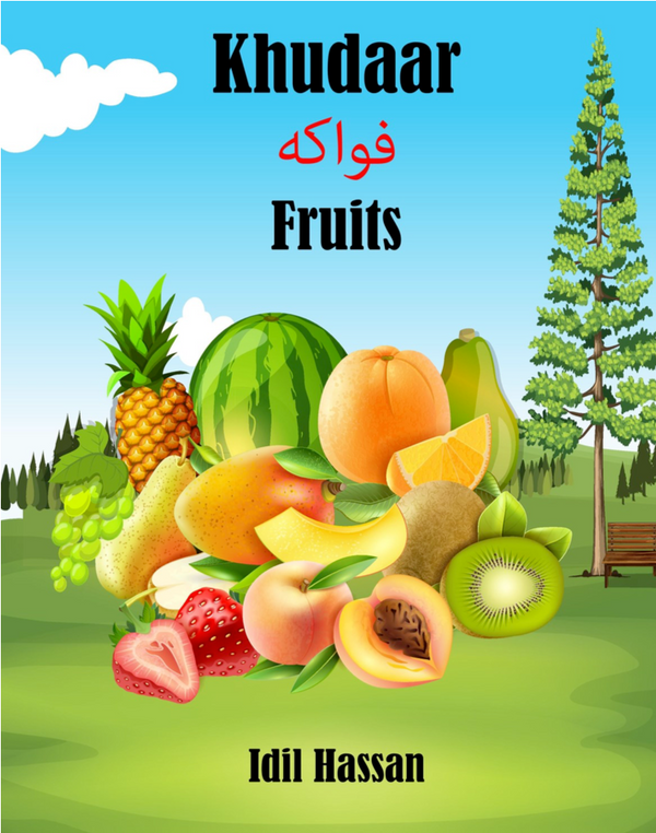 Khudaar (Fruits) Trilingual Children's book Somali - English - Arabic (Book only)