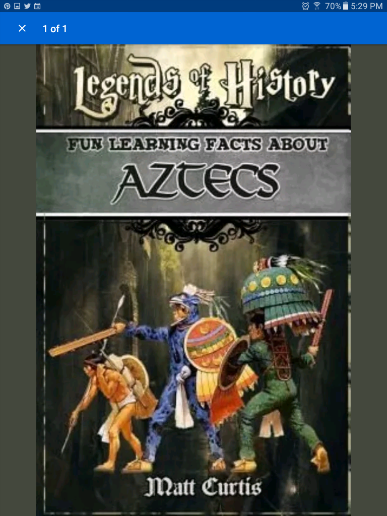 Legends of the aztec