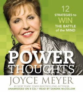Joyce Meyer - Power Thoughts: 12 Strategies for Winning the Battle of the Mind Audio CD