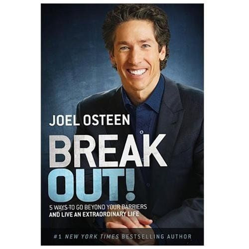 Joel Osteen - Break Out! - Audio Book - CD - New