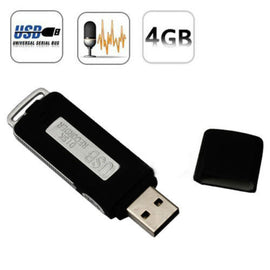 Mini 4GB USB Drive Digital Audio voice Recorder Pen 70 Hours - New
