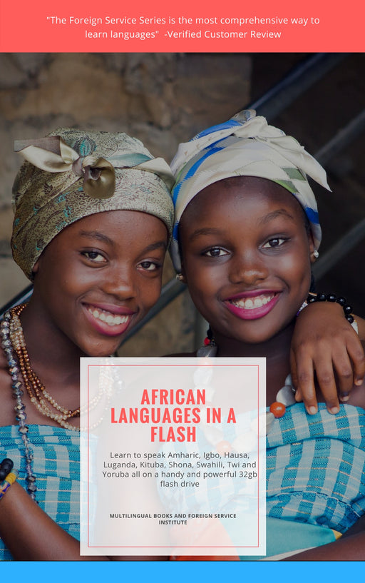African Language Explorer: Download or USB Drive