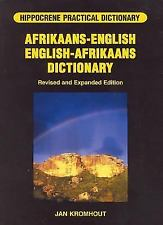 Hippocrene Practical Dictionary: Afrikaans-English - English-Afrikaans Dictionary Glossary