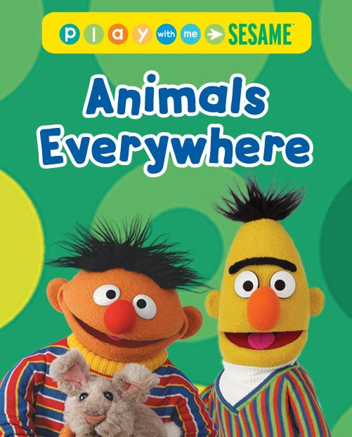 Play With Me Sesame - Animals Everywhere - French, Spanish DVD
