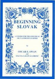 Beginning Slovak Book and Cd's