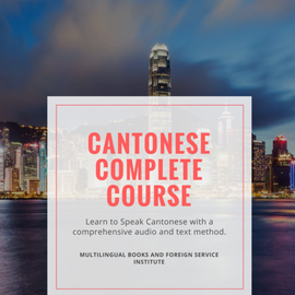Cantonese in a Flash Mp3 and Pdf files 2 levels