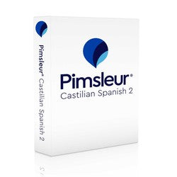 Spanish (Castilian) Pimsleur Level 2 CD Course