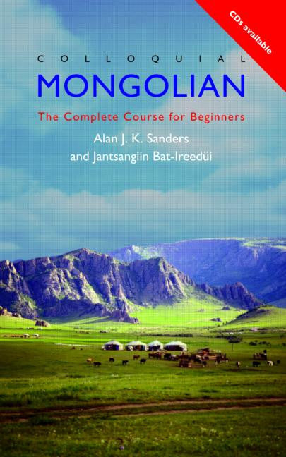 Colloquial Mongolian Book and 2 Cd's