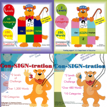 Con-SIGN-tration, Complete Set (Volume 1-4)