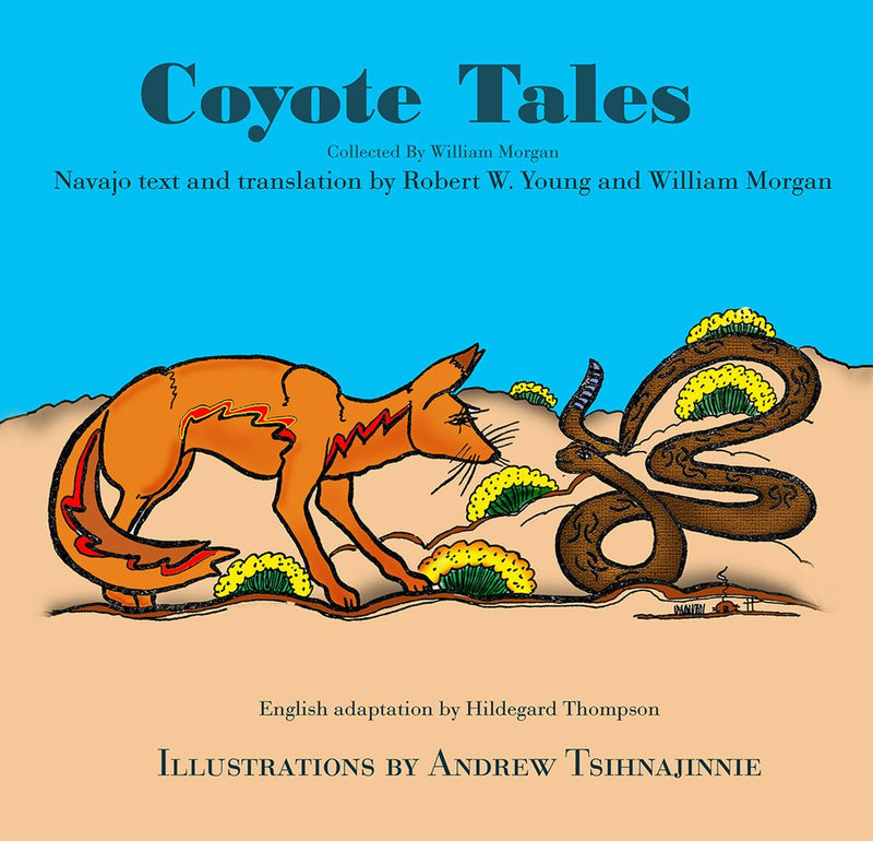 Coyote Tales Navajo bilingual children book