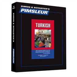 Learn Turkish Pimsleur Level One Used Like New