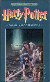 Harry Potter Og Halvblodsprinsen -Danish Harry Potter Half Blood Prince