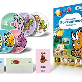 Dino Continental Portuguese Deluxe DVD Course for Children
