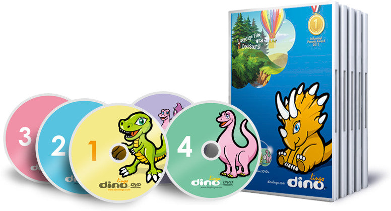 Dino Dari DVD Course for Children