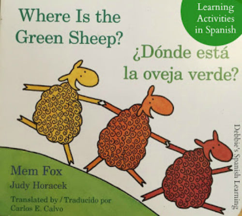 Board Book (English and Spanish Edition) Donde esta la oveja verde?/Where Is the Green Sheep?