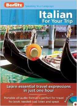 Italian for Your Trip English and Italian Edition Audiobook, CD