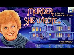 Murder She Wrote Vintage Board Game