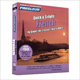 French Modern Pimsleur Quick and Simple Audio CD