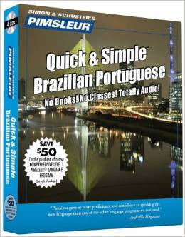 Brazilian/Portuguese Modern Pimsleur Quick and Simple Audio CD