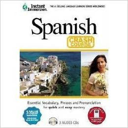 Spanish Crash Course Audio CD