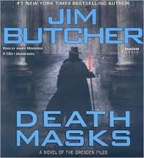 Death Masks Dresden Files Audio CD – Audiobook, Unabridged by Jim Butcher