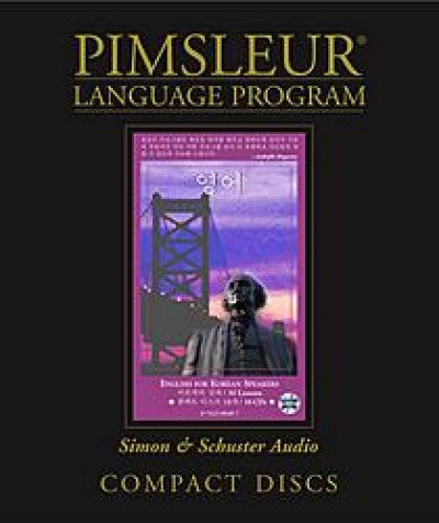 Pimsleur Comprehensive English as A Second Language for Korean Speakers
