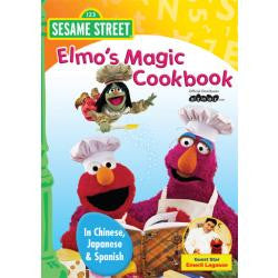 Sesame Street - Elmo's Magic Cookbook - Chinese, Japanese, Spanish