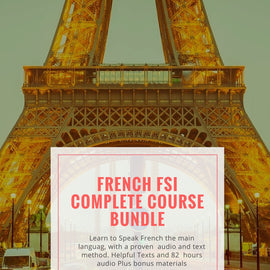 French in a Flash Download Bundle with FSI Course