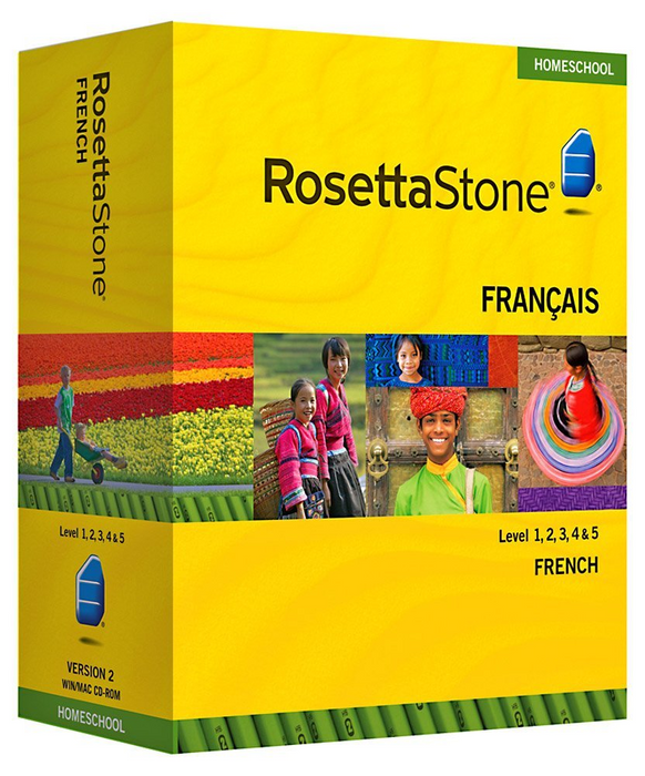 Rosetta Stone® Levels 1 2 3 Italian  HOMESCHOOL with audio and Headset plus Phrasebook