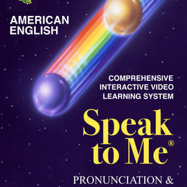 Speak to Me English Pronunciation and Vocabulary Course for ESL Students DVD and Audio