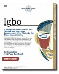Learn Igbo Complete Foreign Service Book and CD Course