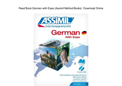 Assimil German With Ease Book and CD Version