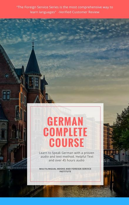Learn German Foreign Service Remastered Basic Book and CD Course Level 1