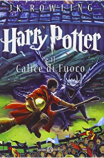Harry Potter e il calice di fuoco -Goblet of Fire Book 4 in italian Free Shipping