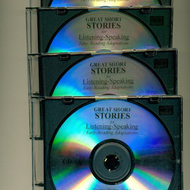 Great Short Stories for Listening/Speaking: Easy Reading Adaptations CD's (4)
