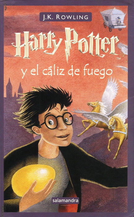 Harry Potter y el cáliz de fuego 4 (Harry Potter and the Goblet of Fire, Spanish)