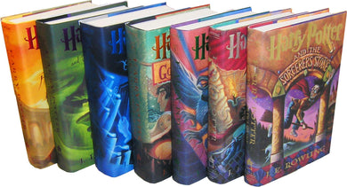 Harry Potter Complete Series Boxed Set Collection JK Rowling All 7 Books! Like NEW!